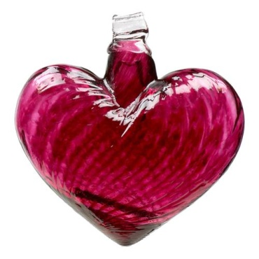"3"" Hearts of Glass - Pink"