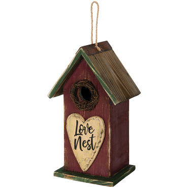 """Love Nest\"" Birdhouse"