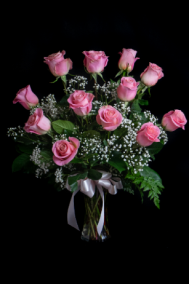 Sale: Pink Rose A Dozen