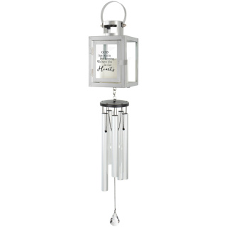 """In Our hearts\"" Lantern Wind Chime"