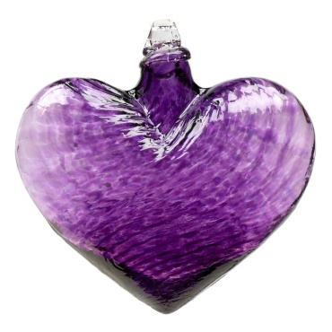 "3"" Hearts of Glass - Purple"