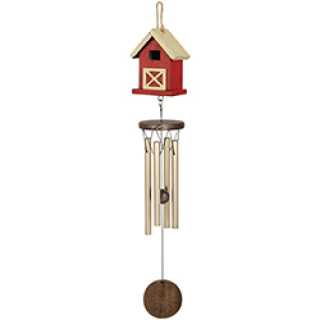 Barn birdhouse chime